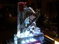氷彫刻実演2014年4月25日