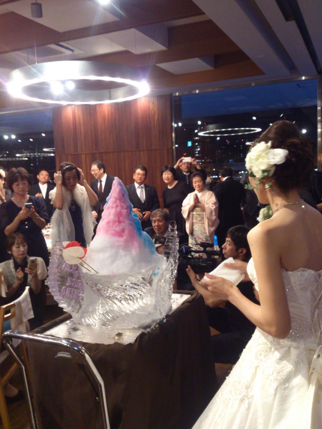 Bridal氷アート